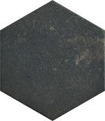 Scandiano Brown hexagon 26x26